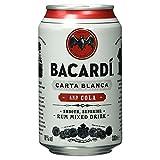 Bacardi Carta Blanca und Cola Einweg, (1 x 0,33 l)