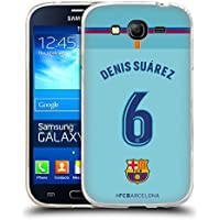 Official FC Barcelona Denis Suárez 2017/18 Players Away Kit Group 1 Soft Gel Case for Samsung Galaxy Grand Neo
