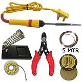 6 in 1 soldering iron kit. Iron | stand | flux | wire stripper | wik | solder wire