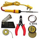 #10: 6 in 1 soldering iron kit. Iron | stand | flux | wire stripper | wik | solder wire