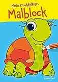 Mein Knuddeltier-Malblock gelb. Ab 4 Jahren (Malbücher und -blöcke)