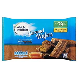 Weight Watchers Caramel Wafers 5 x 18.4g