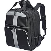 AmazonBasics Tool Bag Backpack, 50 Pocket with 2 Pocket Front, ZH1709022R1H, Black