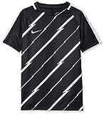 Nike 833008-010 Kinder T-Shirt, Schwarz (Black/White), XL