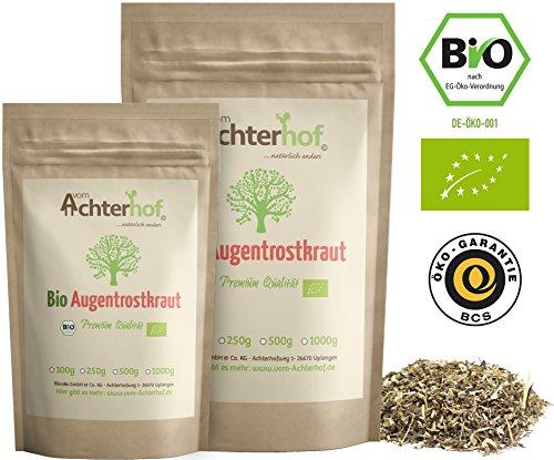 Bio-hund Tee (Augentrost-Tee Bio (100g) | Augentrostkraut | Augentrostkrauttee | Augentrost Kraut vom Achterhof)