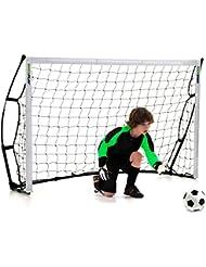 Kickster Fußballtor–2Pack 6x 4ft (1,8x 1,2m), bequem zu tragende Tasche.