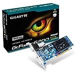 GIGABYTE GeForce 6200 512MB GDDR2 AGP 64MB 1xDVI-I aktiv