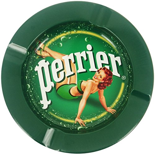 perrier-posacenere-in-metallo-decorativo-pub-perrier-retro-vintage-pin-up-sulla-schiena-bruna