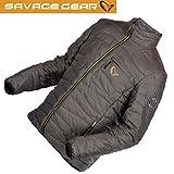 Savage Gear Simply Savage Lite Jacket - Angeljacke, Steppjacke für Angler, Jacke zum Streetfishing, Anglerjacke, Outdoorjacke, Größe:L