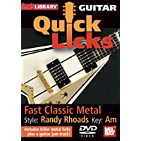 Guitar Quick Licks - Fast Classic Metal/Randy Rhoads