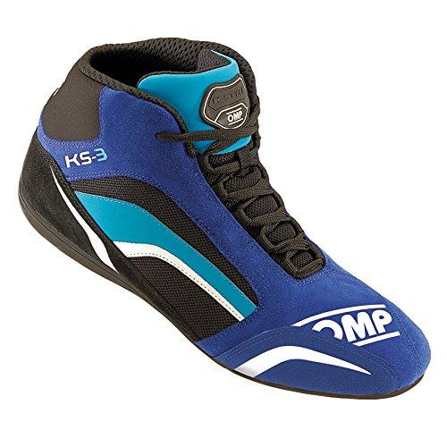 OMP OMPIC/81324143 Schuhe Ks-3 Blau/Schwarz/Cyan Größe 43