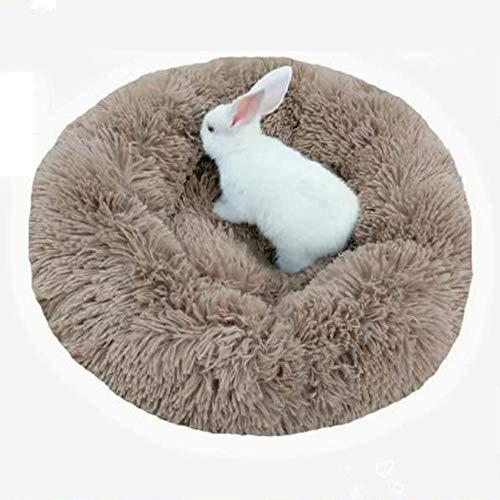 DEEN Hundebett mit weichem Fell, rutschfest, für mittelgroße und große Hunde und Katzen, gemütliches Bett im Schlafzimmer, Wohnzimmer und Flur -