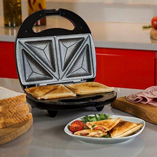 089eefe93da Tower T27010 Ceramic Stone Coated Sandwich Maker - Black - Uk ...