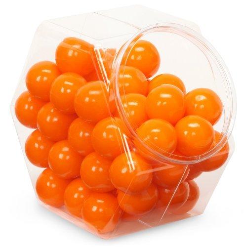 Sweetworks Celebration Candy Gumballs Bag, 8 oz, Orange by SweetWorks