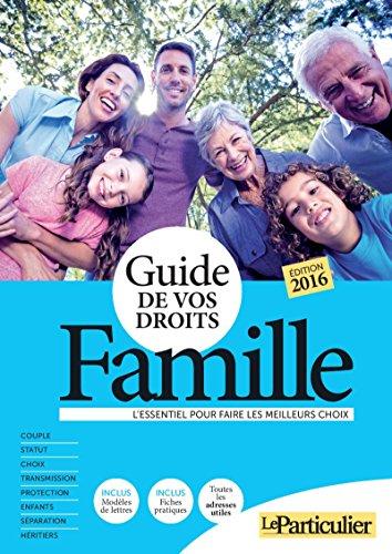 Guide de vos droits - Famille