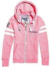 Superdry G20145xpf7, Sweatshit à Capuche Sportswear Femme