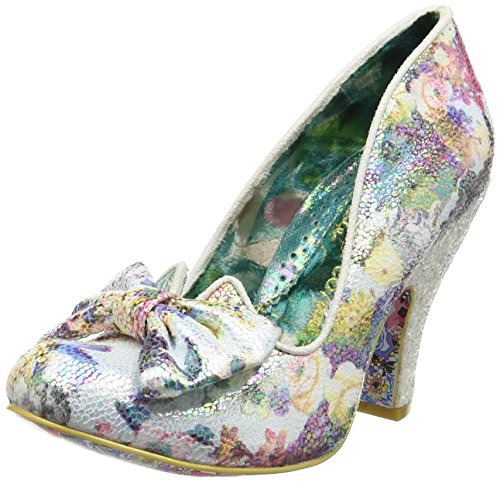 Irregular Choice Nick of Time, Damen Pumps, Multicolor (Floral Print), 41 EU (Print Multi Floral Color)