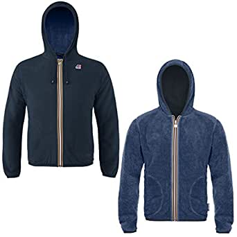 Sweatshirt - JACQUES FUR BONDED - K-Way - 6A - Profondeur Blue-Deep Blue