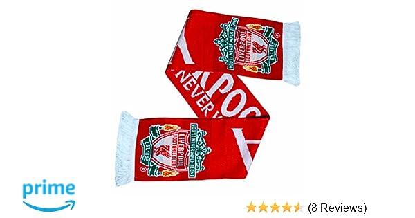"Schal Liverpool FC /""Champions League/""  mit Logo Liverpool Scarf LFC Schal 2019"