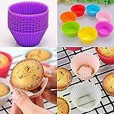 Küche Köche Silica Backen Gel Mikrowelle Runde Form Mini Kuchenform Tassen