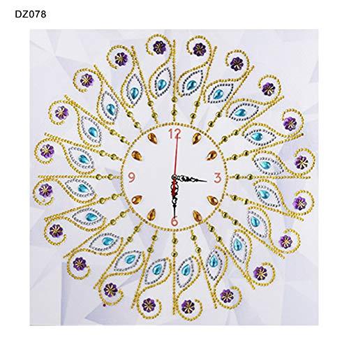 Beiguoxia Peinture en diamant faite à la main 35 x 35 cm, 1 couleur, DZ078