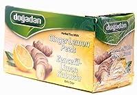 Mixed Herbal Tea with Ginger-lemon Peels 20 Teabags (Pack of 3)