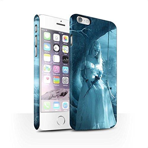 Officiel Elena Dudina Coque / Clipser Matte Etui pour Apple iPhone 6S / Diamants congelés Design / Art Amour Collection Luz Sombra