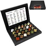 Hallingers Adventskalender Grillkalender BBQ 24 Männersache ADVENT, black Set/Mix 24x Miniglas in Deluxe-Box, 1er Pack (1 x 385 g)