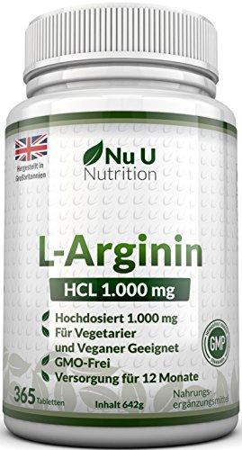 Nu u Nutrition L-Arginin