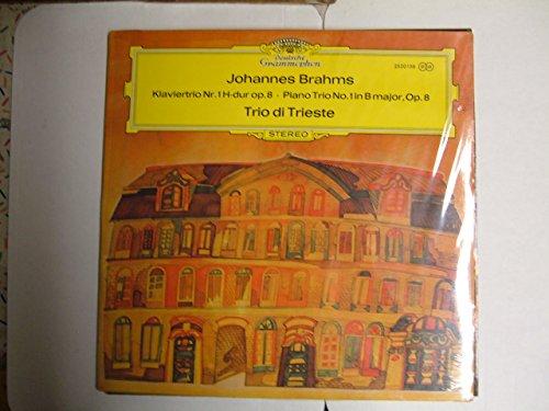 BRAHMS, Johannes: Piano Trio nr.1, op.8 -- Trio di Trieste -- Deutsche Grammophone () Printed in Germany--DGG 2530156