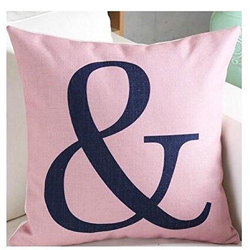 Cushion Covers, Toifucos Cushion Cover Geometric Figure Cotton Linen Pillow Cover for Home Sofa Decorative