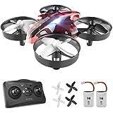 ATOYX Mini Drone, RC Drone 2.4G 4 Canales 6-Axis Gyro, Quadcopter con Modo sin Cabeza, Altitud Hold, Alarma de Batería y 3 Mo