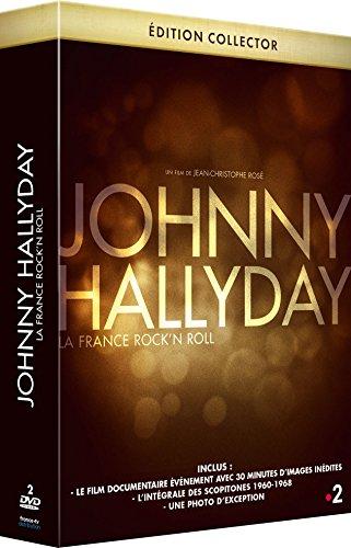 JOHNNY HALLYDAY Edition spéciale : La dernière interview filmée de JOHNNY + bonus exclusifs et inédits + le DVD des scopitones des années 1960 - 1968 + photo