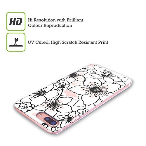 Head Case Designs Albero Ciliegi In Fiore Cover Retro Rigida per Apple iPhone X Tempo Di Primavera