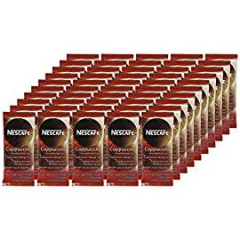 NESCAFÉ Gold Unsweetened Cappuccino Sachets, Box of 50