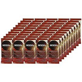 NESCAFÉ Gold Unsweetened Cappuccino Sachets, Box of 50 51765DqlizL