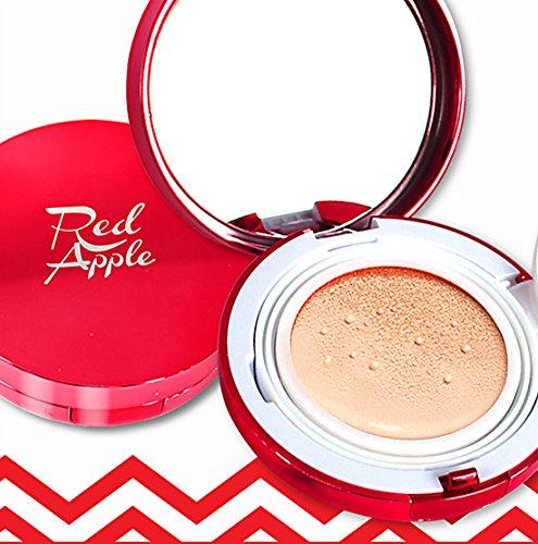 red-apple-magic-cc-cushion-spf50-pa-15g-no21-true-beige-refill-set-spf50-pa-uv-protection-whitening-