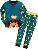 Vaenait baby Kinder Jungen Nachtwaesche Schlafanzug-Top Bottom 2 Stueck Set Secret Simba XS