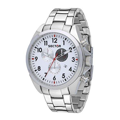 Sector Orologio Cronografo Quarzo Uomo con Cinturino in Acciaio Inox R3273690010