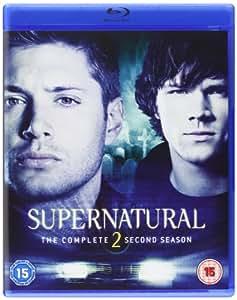 Supernatural - Season 2 Complete [Blu-ray] [2011] [Region Free]