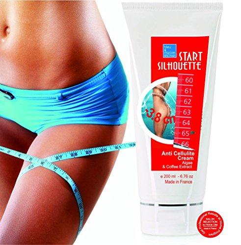 Start Silhouette Algae & Coffee Anticellulite Cream - professional product 200 ml