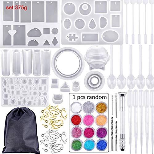 83 piezas herramientas pegamento cristal/conjunto