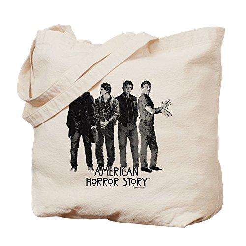 CafePress-American Horror Story Evan Peters-Leinwand Natur Tasche, Reinigungstuch Einkaufstasche - American Leinwand