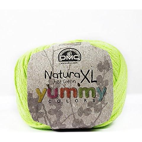 DMC Natura XL Yummy filato cotone 90Soufre - Dmc Palla