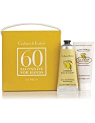 Crabtree & Evelyn Citron, Honey & Coriander 60 Second Fix Kit Hands