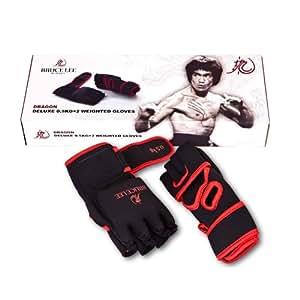 Bruce Lee - Produits lestés - Gants Dragon de luxe lesté 1 kg - 13BLDFU504