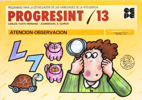 Progresint. 13. Atencion - observacion por Carlos Yuste