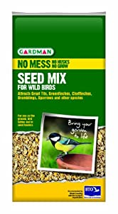 Gardman 2Kg No Mess Seed Mix Pal Box by Gardman