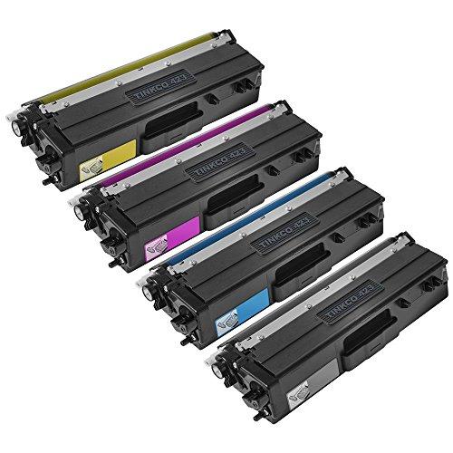 Ecoink Pack 4 Ecoink TN423 BK/COLOR kompatibel für Brother Ohne Serie DCP-L 8410 CDN/HL-L 8260 CDW/HL-L 8360 CDW/MFC-L 8690 CDW/MFC-L 8900 CDW TN-423 8410 Serie