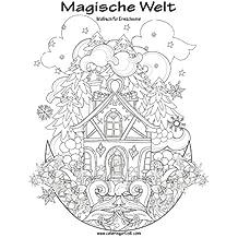 Magische Welt Malbuch für Erwachsene 1